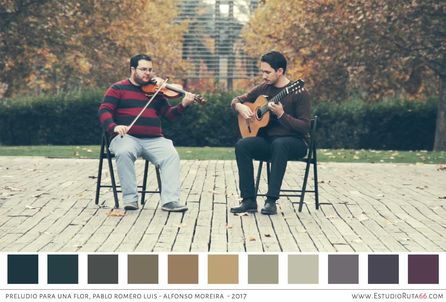 Paleta cromática - Preludio para una Flor - Pablo Romero Luis - EstudioRuta66.com